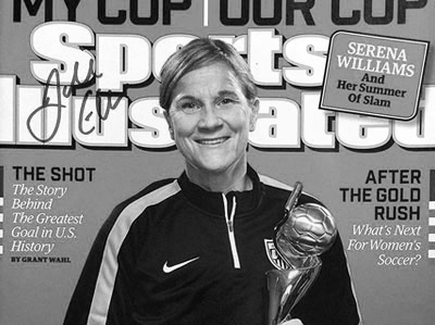 Jill Ellis Sports Illustrated