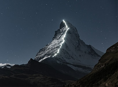 EPX Worldwide Mount Everest at Night Image