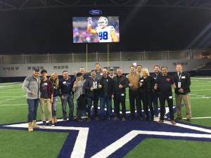 EPX Dallas Cowboys group shot field tour