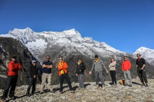 EPX Everest group shot at peak